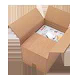 caisse carton et emballage gamme professionnelle cenpac. Black Bedroom Furniture Sets. Home Design Ideas